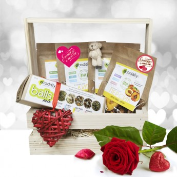 gift box for Valentine's Day. Option 3